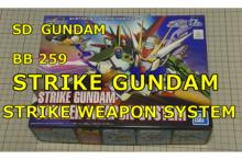 SD BB259 STRIKE WEAPON ストライク ウエポン